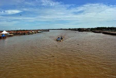 Sungai musi : Tempat wisata alam di palembang