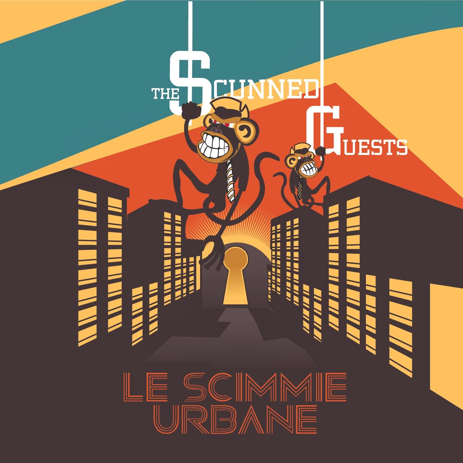 La copertina del debutto degli Scunned Guests
