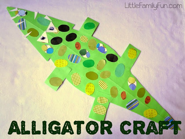 http://www.littlefamilyfun.com/2012/04/alligator-craft.html