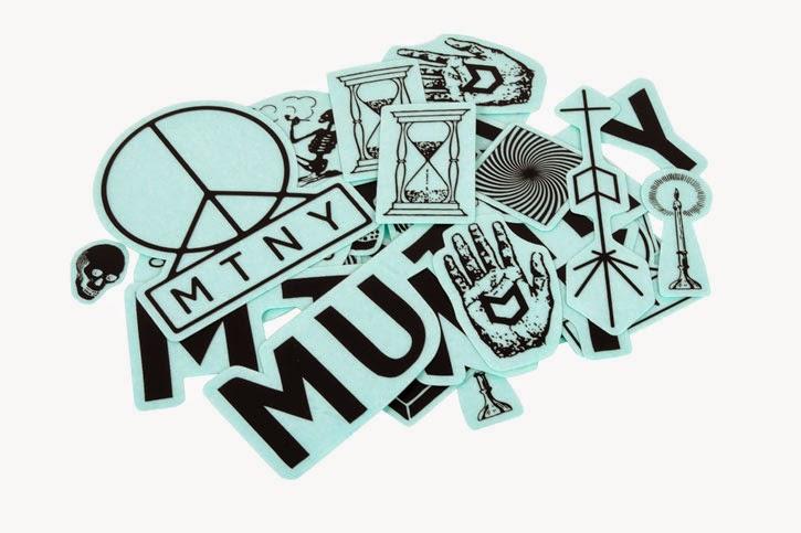 Pack de stickers MUTINY $15.000