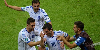 Euro 2012 Score Reports Greece 1 - 0 Russia Highlights