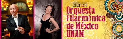 Jan Latham Koenig, Tasmin Little, Orquesta Filarmónica de México UNAM