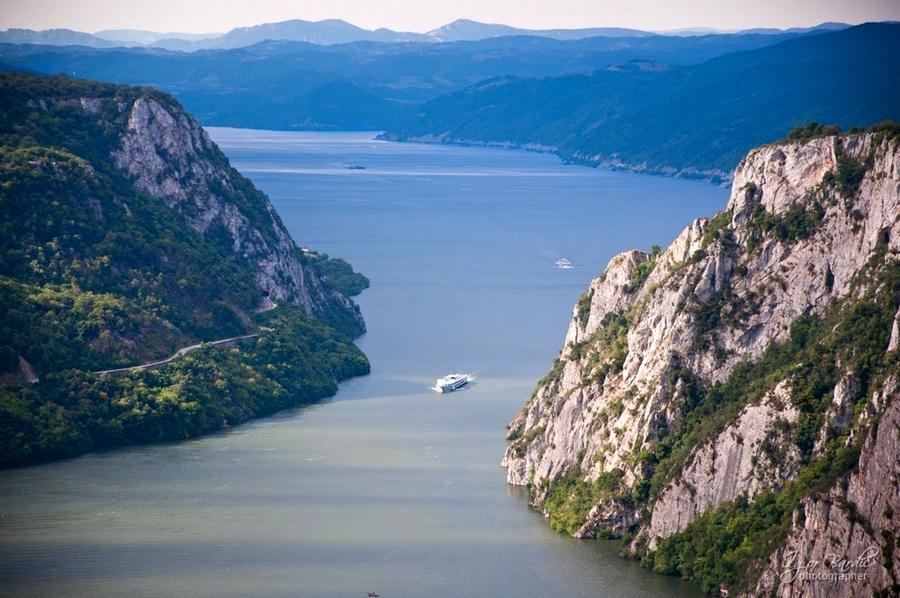 Beautiful Eastern Europe Danube Canyon Djerdap Serbia