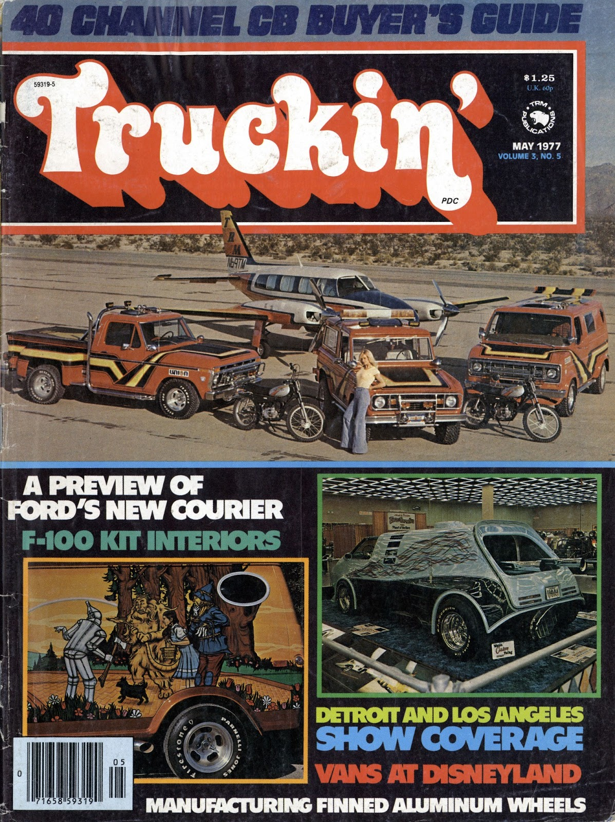 Truckin magazine may 1977