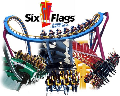 six flags rides california. With over 100 rides, Six Flags