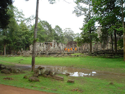 Temples bouddhistes d'Angkor - Cambodge