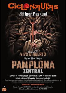 CICLONAUTAS EN ZENTRAL, 26 DE FEBRERO