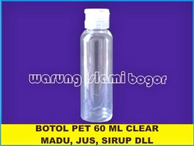 Jual Botol Fliptop 60ml