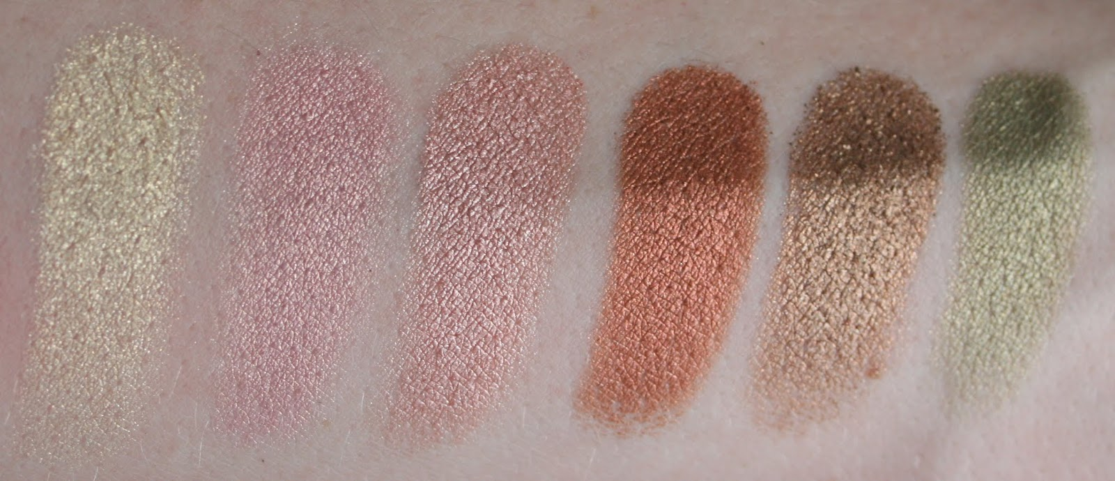 Sleek Original palette swatches