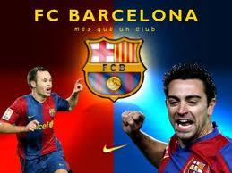 Iniesta dan Xavi Barcelona