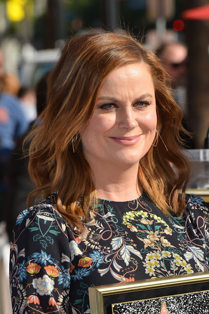 Actress, @ Amy Poehler - Honored with a star on the Hollywood Walk of Fame in Los Angeles