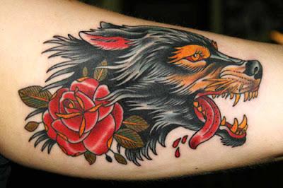 tatouage de chien