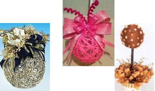 Todo para eventos decoracion de esferas - Decorar bolas de navidad ...
