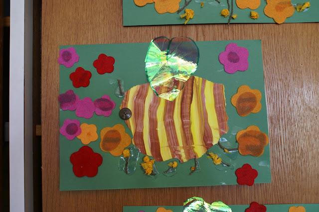 Kindergarten Biene basteln