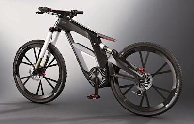 Audi e-bike usa um smartphone para o seu sistema de controle eletrônico