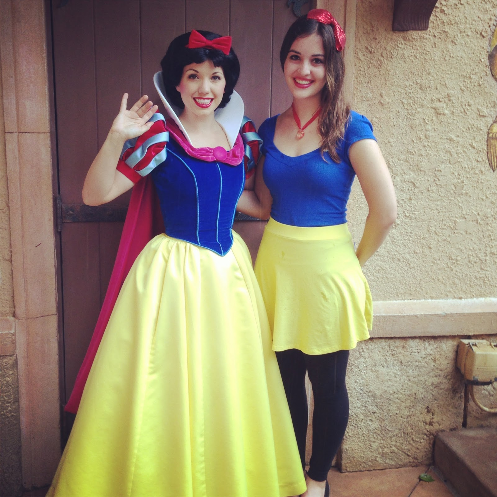 The disney den my bucket list meet all disney princesses i actually met snow three times during my program the first time was during my birthday where i also got to meet snow prince and dopey kristyandbryce Choice Image