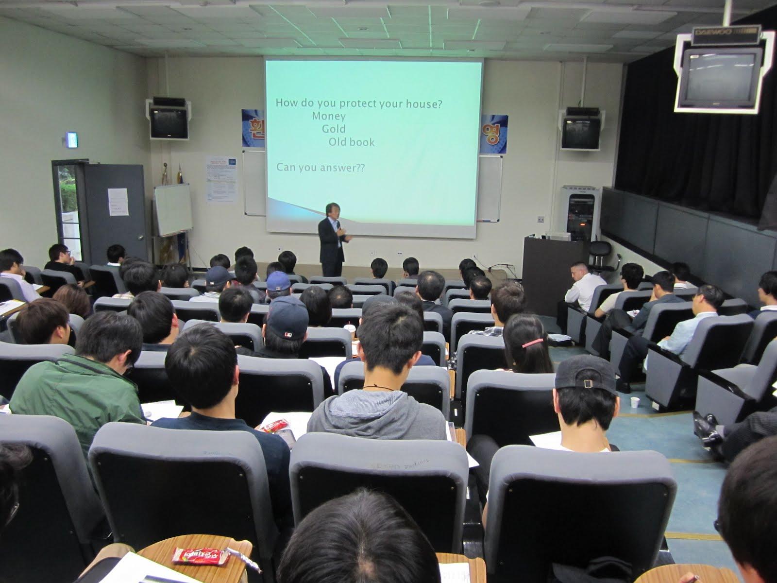 Presentation university