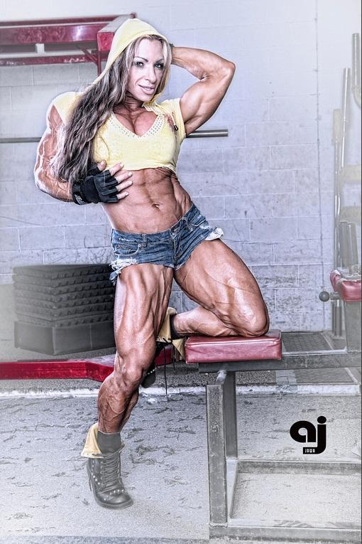 Debi Laszewski Before/After   Muscle Women's Blog