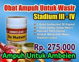 Paket Obat Wasir atau Ambeien III-IV