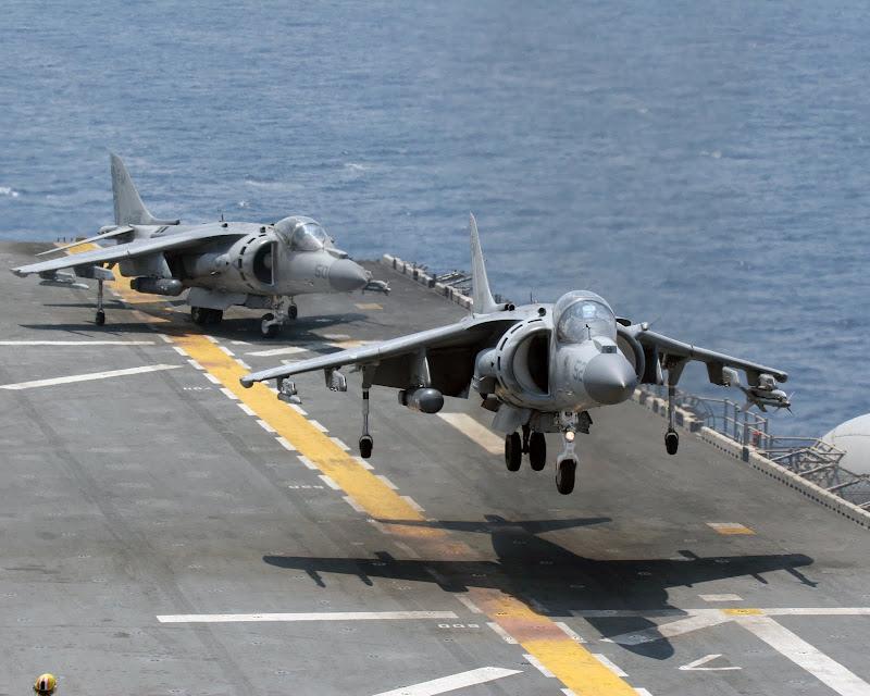AV-8B Harrier Light Attack Aircraft