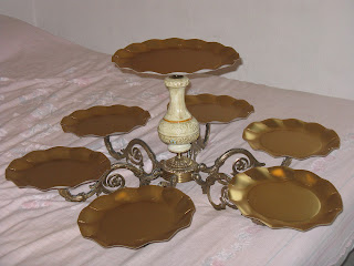 wedding cake stand riciclo creativo