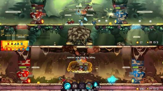 Gameplay Awesomenauts