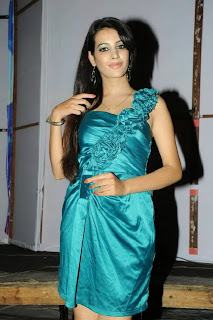 Actress Deeksha Panth  Picture Gallery in Silk Short Dress at Billa Ranga Audio Launch  0050.jpg