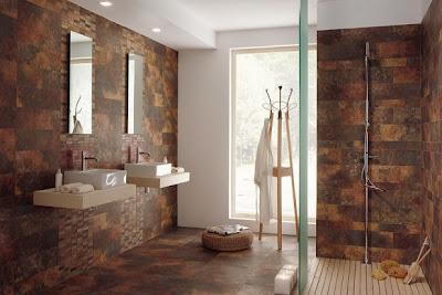 dark brown ceramic wall floor tiles bathroom
