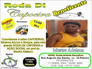 RODA DE CAPOEIRA BENEFICENTE FILHOS DE ANGOLA