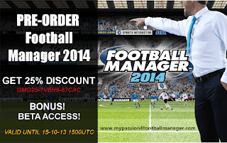 Pre order Football Manager 2014
