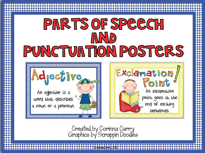 parts of speech - 865×646