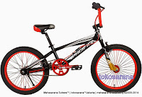 Sepeda BMX Pacific Zeckrom 2.0 Rangka Aloi FreeStyle 20 Inci
