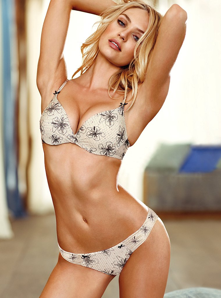 Candice Swanepoel Victoria's Secret Lingerei May 2012 Look Book