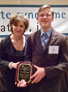 Kenny Richards - 2012 National Zak Hollis Youth Achievement Award Recipient