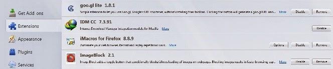 IDM CC Firefox
