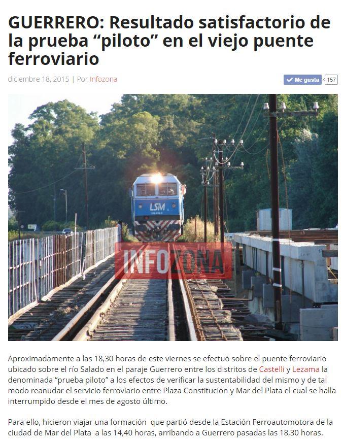 Inforieles: Guerrero: resultado satisfactorio de prueba piolto en ...