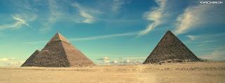 غلاف فيس بوك مصر - اهرامات الجيزة من اعالم مصر السياحية Facebook Cover Egypt