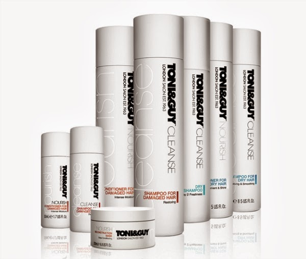 TONI&GUY CLEANSE & NOURISH COLLECTION