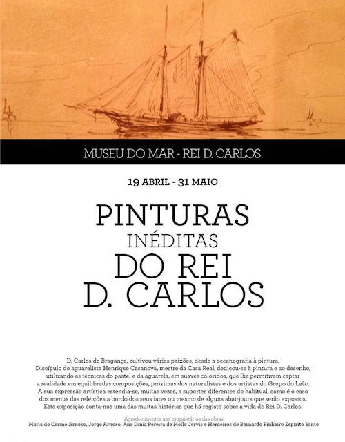 O Rei D. Carlos e as suas pinturas