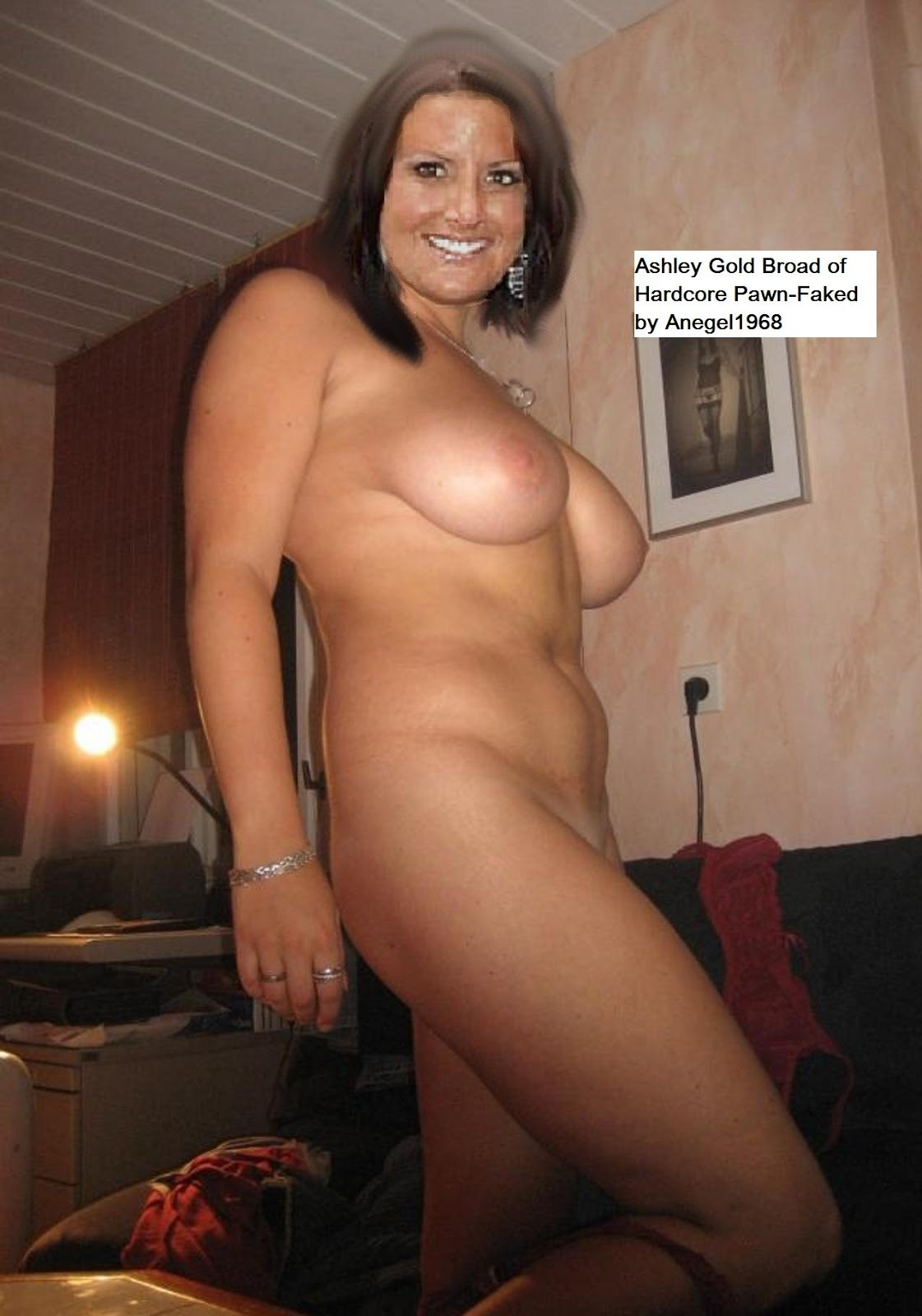 Hardcore Pawn Ashley Broad Gold Nude