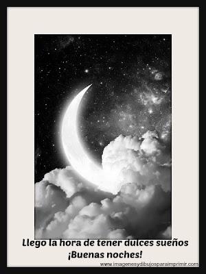 Imagenes y frases de buenas noches