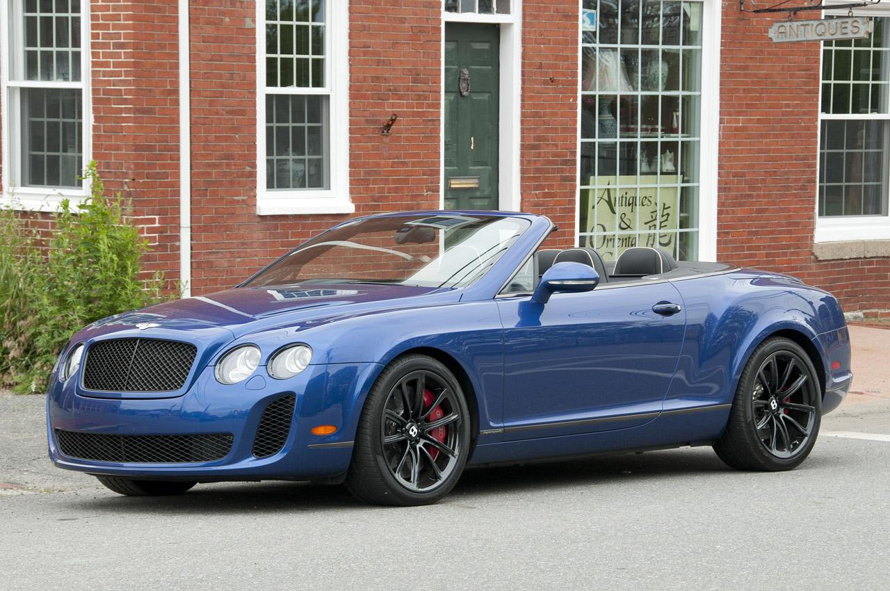 2012 Bentley Continental Supersports Convertible Supercar Original