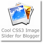 Cool CSS3 & jQuery Image Slider for Blogger
