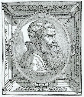 Francesco Priscianese, Incisione di Giovanni Britto, ca. 1540