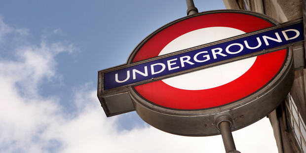 Pensioner in London comes to rescue of scantily-clad young lady on the Tube