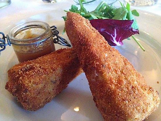 Breaded Deep Fried Brie