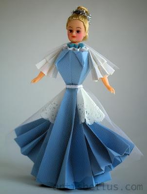 Origami Toys: Cinderella Doll