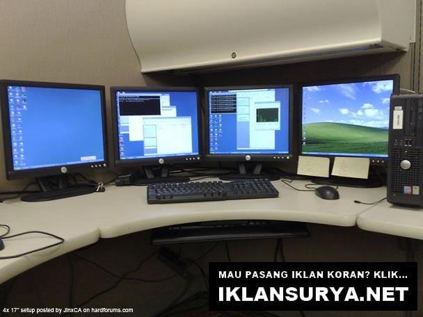 Markas Komputer Unik, Terminal Desktop 4 LCD