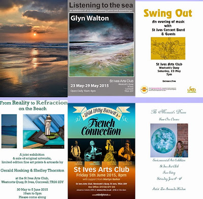 St Ives Arts Club - Exhibitions - Live Music