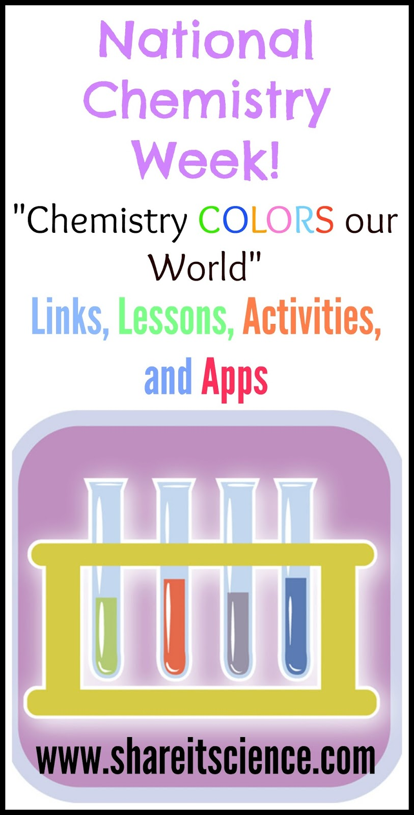 Share it! Science : National Chemistry Week 2015 ...